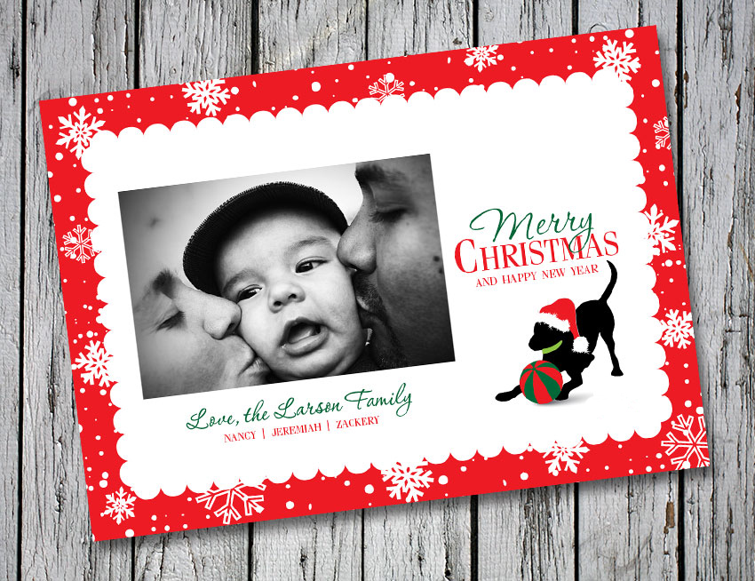 Baby Hank 2014 Christmas/Holiday Card – Digital