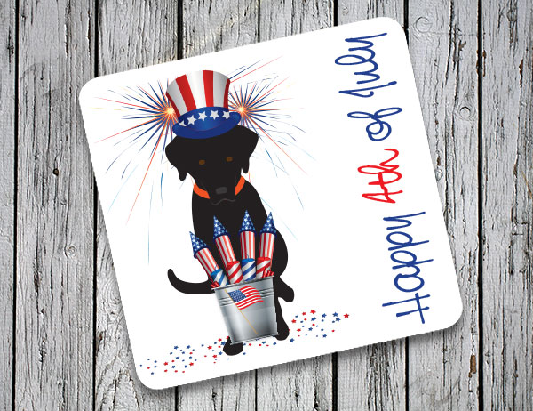 4th of July Coasters